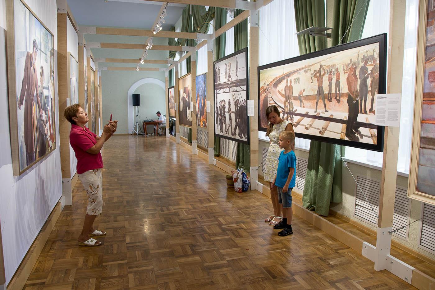 Анапа выставка картин