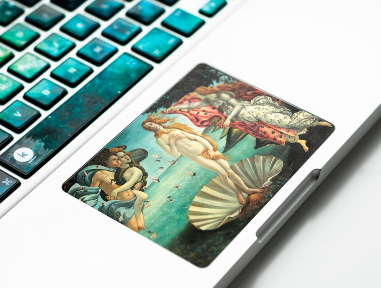 Turn your laptop into a piece of art