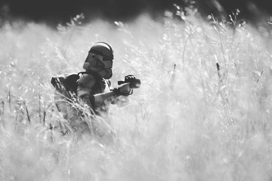 Star Wars Toys Photography by a U.S Marine (8 pics)