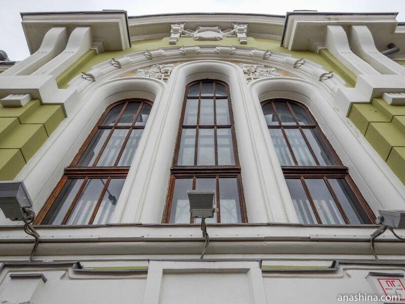 Тройное окно Романского зала, дом Смирнова,