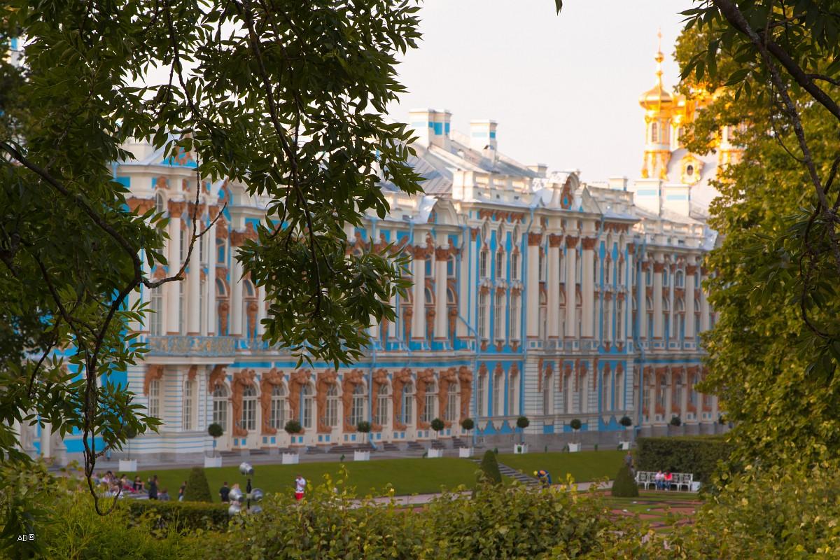 Окрестности Петербурга - Екатерининский дворец