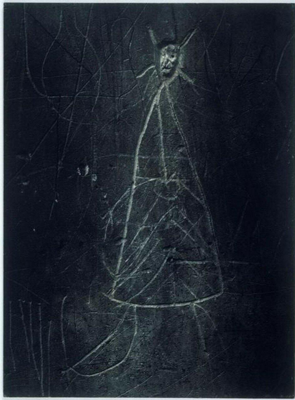 1935. Граффити. Серия VII. Смерть