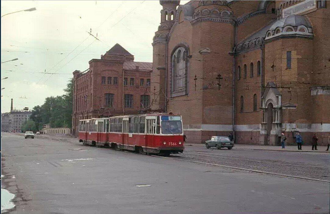 Трамвайное кольцо «Варшавский вокзал»