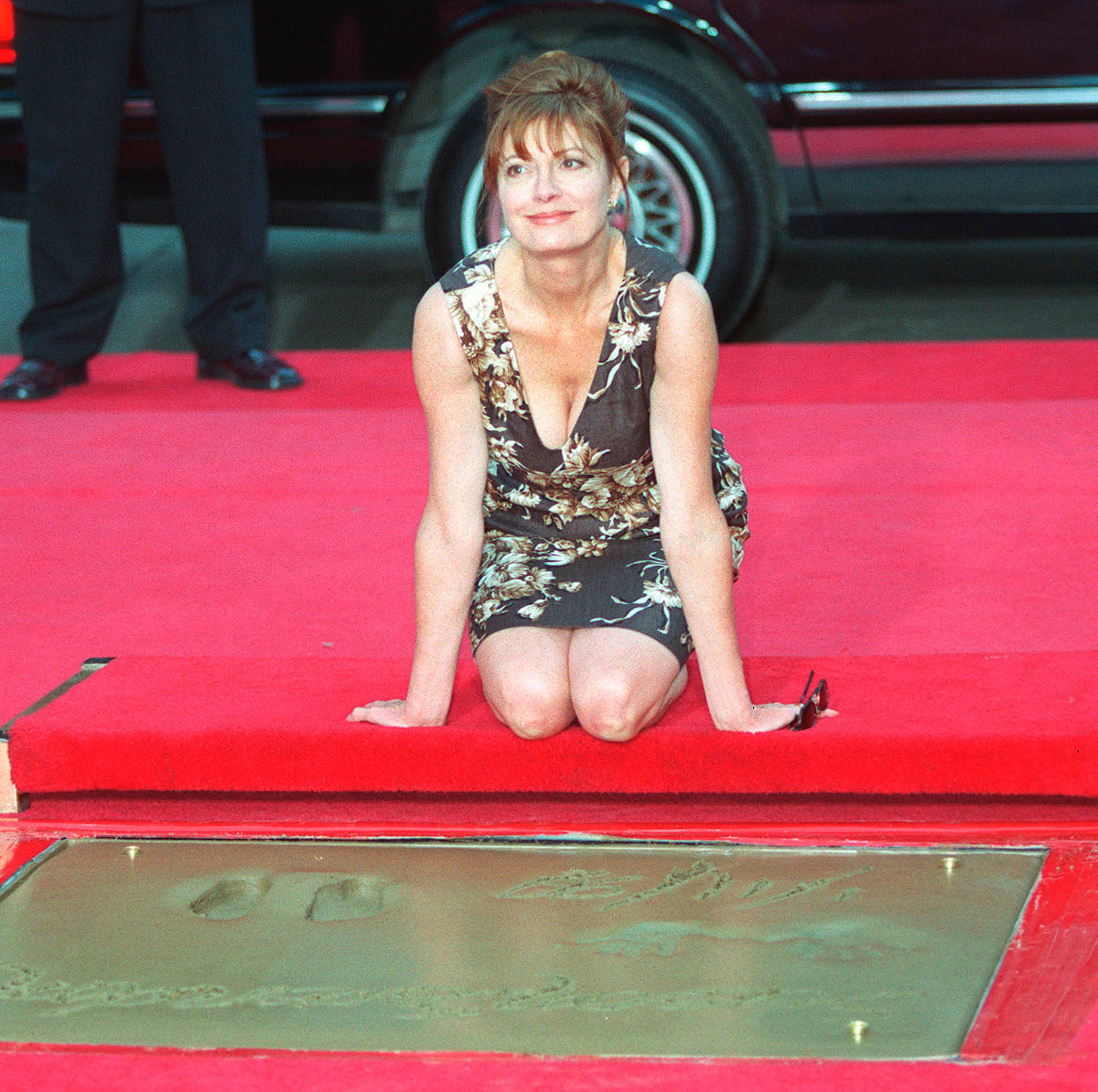 Susan Sarandon footprint ceremony