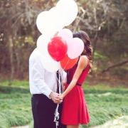 Влюбленные и шарики