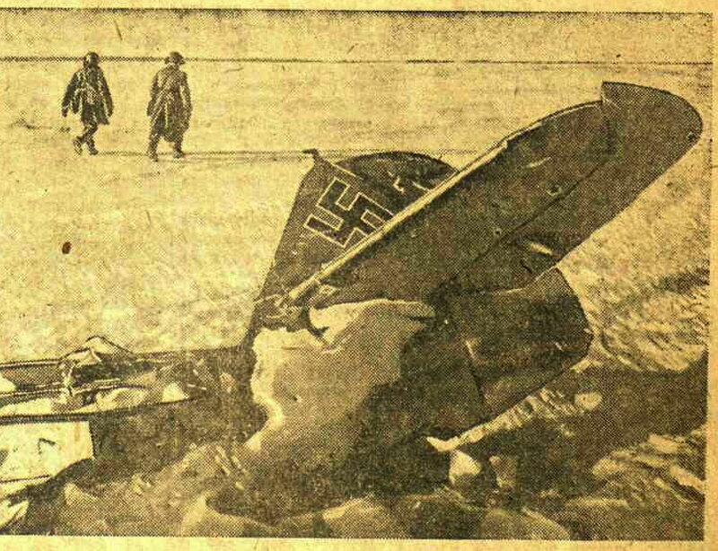 «Известия», 5 марта 1943 года, самолеты фашистской Германии, люфтваффе, авиация войны, авиация Второй мировой войны, фашистские самолеты