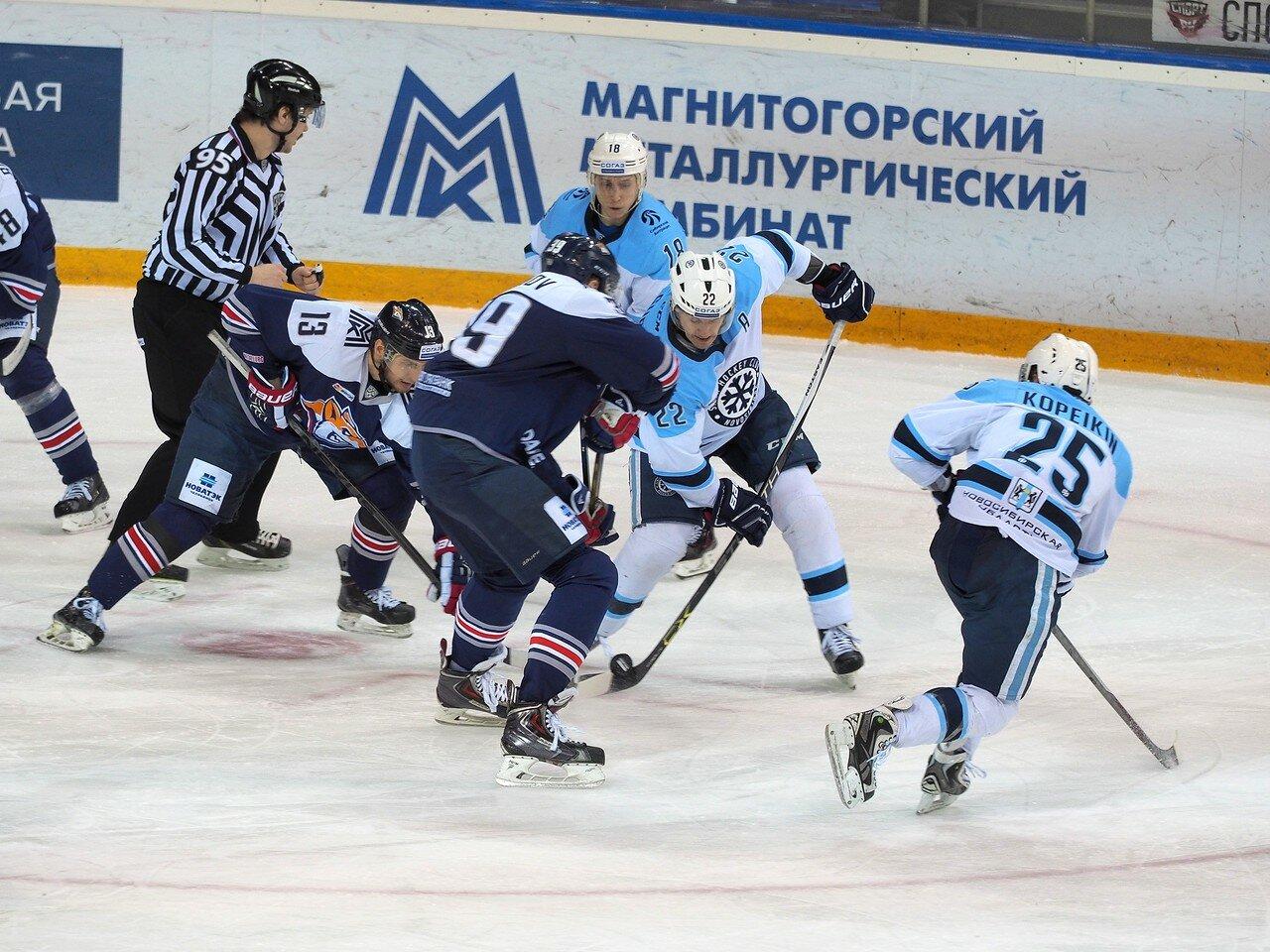 95Плей-офф 2016 Восток 1/2 Металлург - Сибирь 10.03.2016