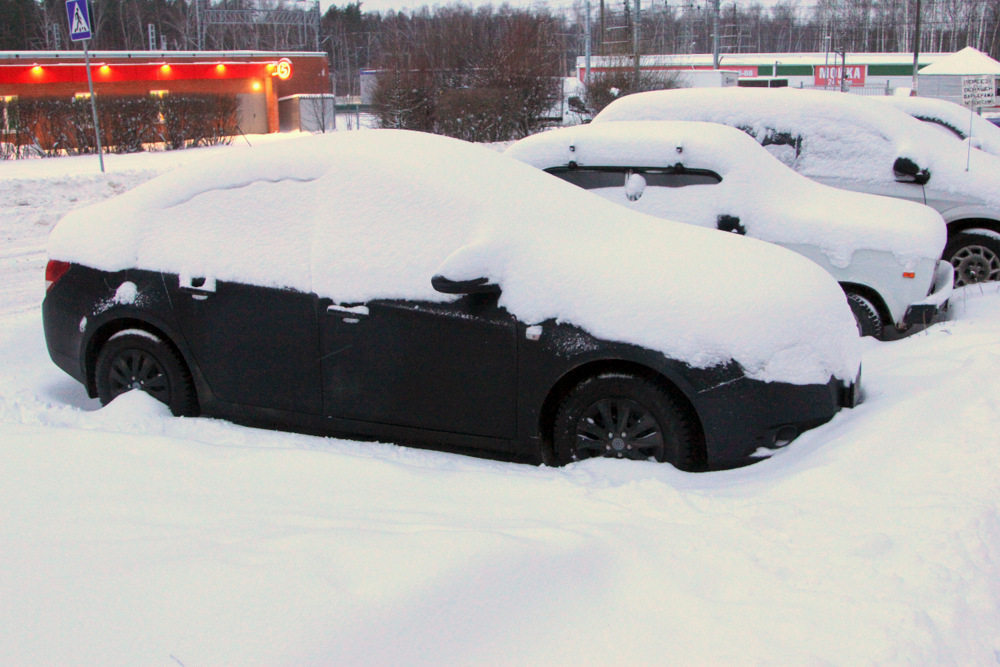 Снег, снег, снег