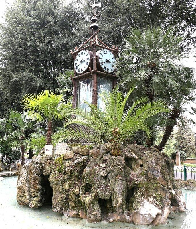 Рим. Водяные часы в Пинчо (Orologio ad acqua nel Pincio)