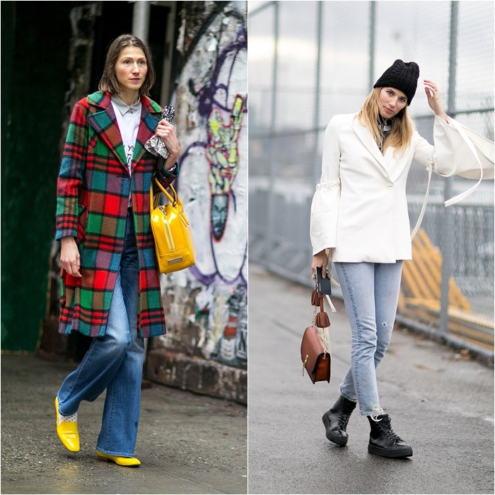 How to Wear Jeans with a Coat: Street Style picture 9
