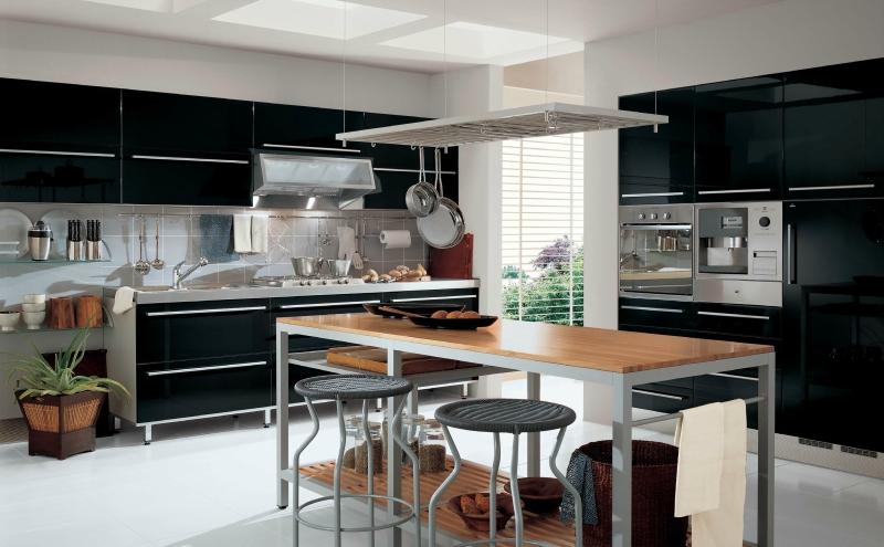 Черный цвет в дизайне интерьера фото 12