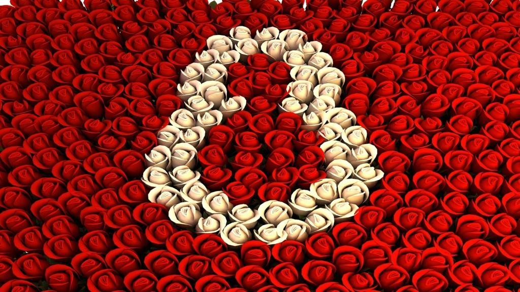 8, женщины, март, праздник, роза, цветы