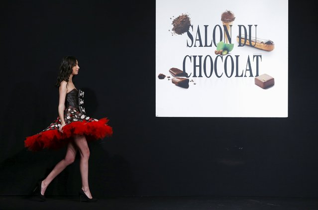 """Le Salon du Chocolat"" in Brussels"