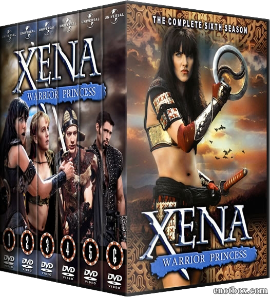 Зена - Королева воинов (1-6 сезоны: 134 серии из 134) / Xena: Warrior Princess / 1996-2001 / ПМ / DVDRip
