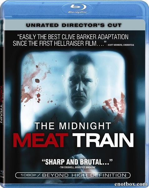 Полуночный экспресс / The Midnight Meat Train [Directors Cut] (2008/BDRip/HDRip)