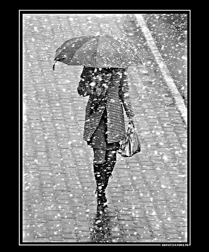 левую приколы про дождь в картинках зимой иногда это