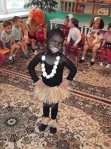 Новый год - из Африки
