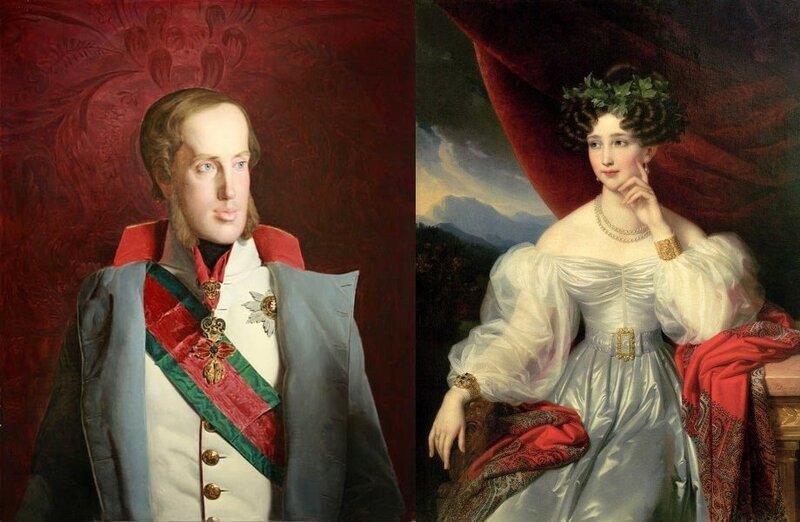 Франц Карл Йозеф и Софи, принцесса, Эрцгерцогиня Австрии