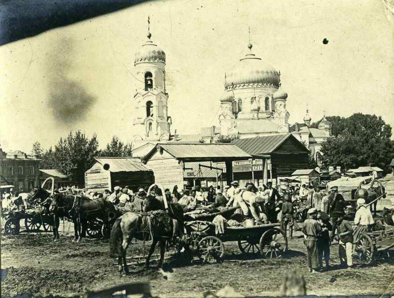 1918. Рынок в Бийске