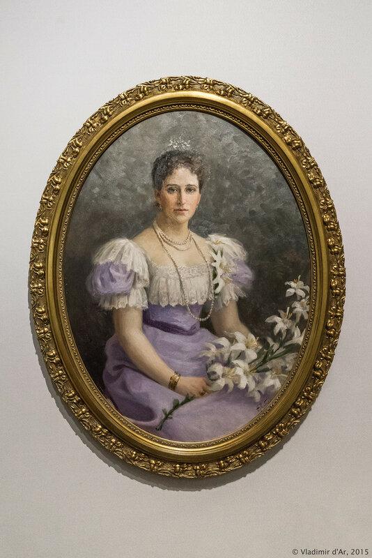 Портрет великой княгини Елизаветы Федоровны. Рерберг Ф.И.