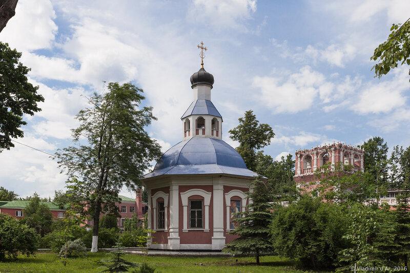 Храм святого великомученика Георгия Победоносца, усыпальница. Донской монастырь.