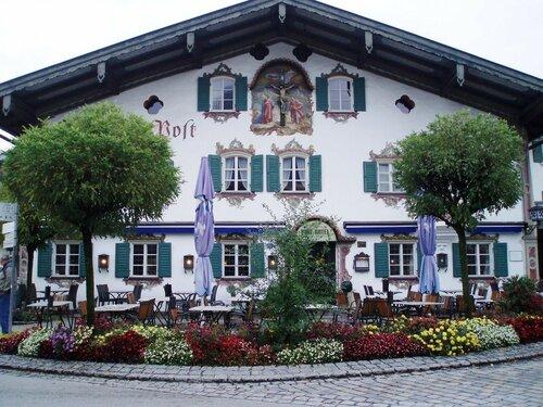 Бавария. Обераммергау