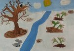 Матяшин Егор (рук. Горелова Оксана Евгеньевна, Сенаторова Татьяна Николаевна) - Весна в лесу