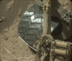 "колёса марсохода ""Curiosity""  (5)"
