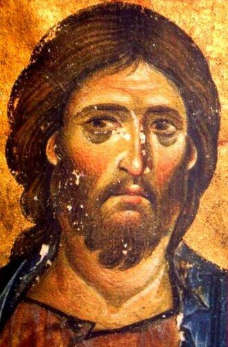 Христос Пантократор (Вседержитель). Византийские миниатюры XI века.