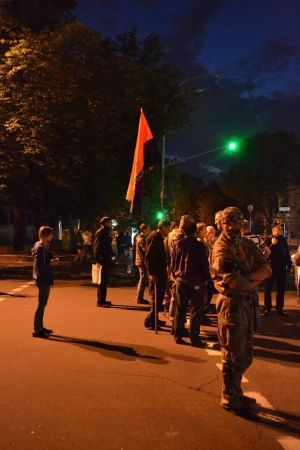 Киевская акция. Ночь на Банковой