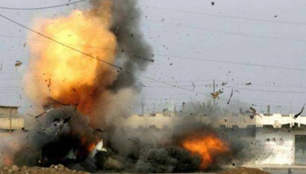 Донбасские партизаны взорвали склад с боеприпасами боевиков