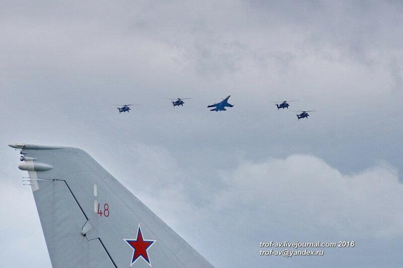 Авиашоу на день рожденья пилотажных групп