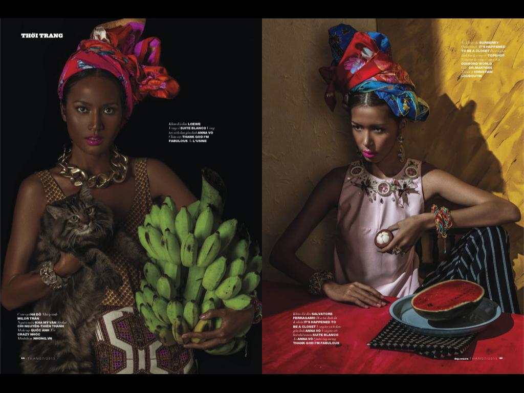 Đẹp Magazine Ma Belle / фото Chi Lemon
