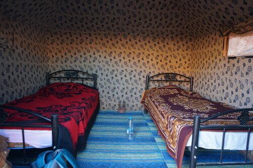 В лагере в Вади Рам
