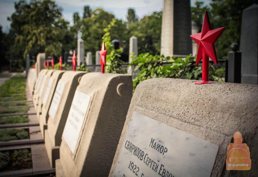 Будапешт - кладбище Керепеши воинские захоронения