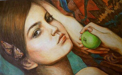 Ольга Петровна Соболева (Моржова) (род. в 1963 году). Портрет.