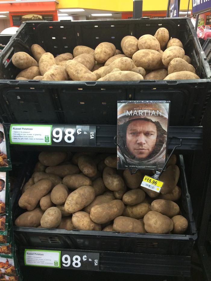 Вот как надо рекламировать картофель (4 фото)