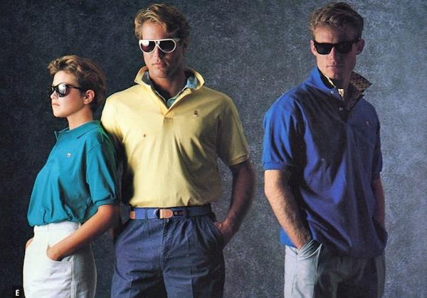 Еще в 80-х Appleрешил попытать счастья в дизайне одежды.