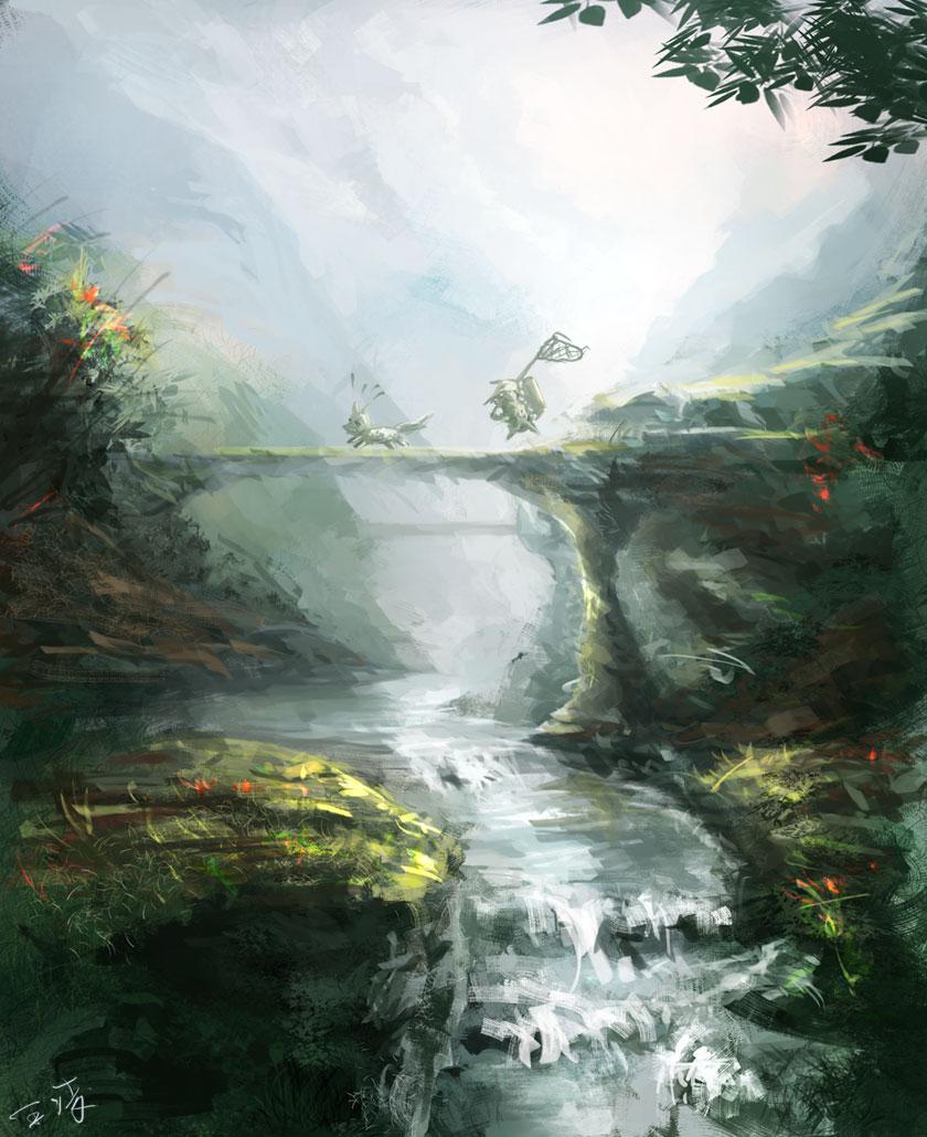 Фэнтези от Wang Ling