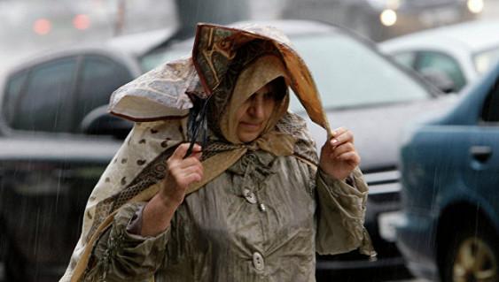 Сначала недели в13 областях центральной РФ предполагается ухудшение погоды