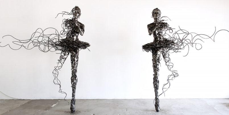 Deconstructed: Sculptures by Regardt van der Meulen Johannesburg-based artist Regardt van der Meulen