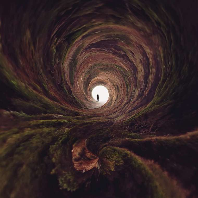 Spiral World - Surreal photos by Nate Hill