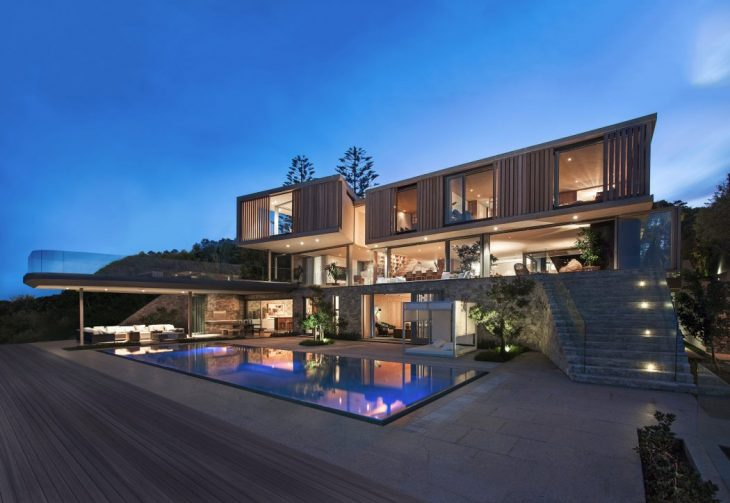 "1. Brief ""The clients approached SAOTA to design a family holiday home that responded to the site, e"
