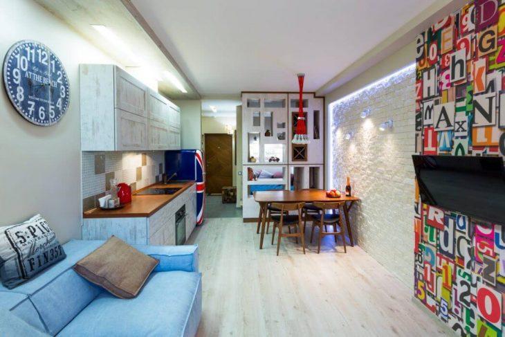 Kiev Apartment by Art Studio (8 pics)