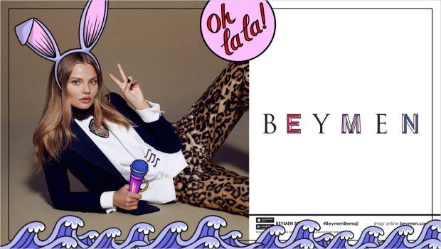 Supermodel Magdalena Frackowiak Stars in Beymen FW16 Playful Ads