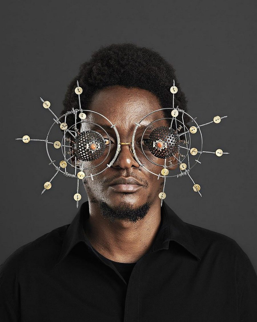 Dazzling Glasses Created by Cyrus Kabiru