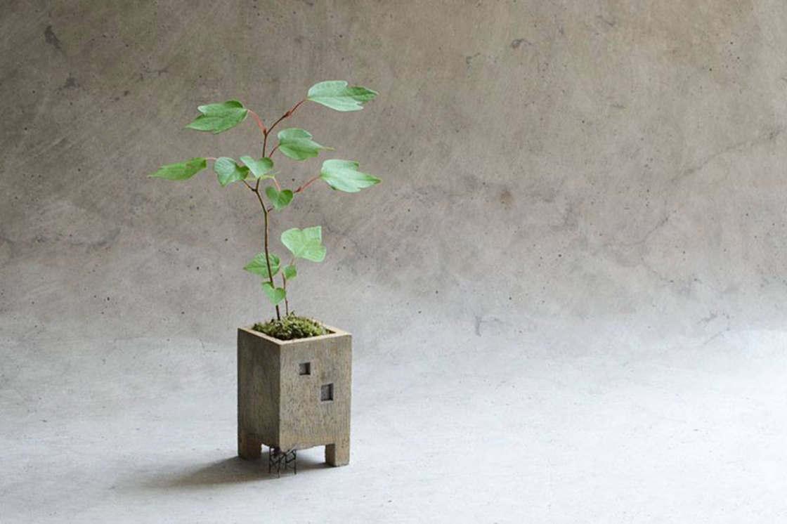 Cute miniature buildings for your plants