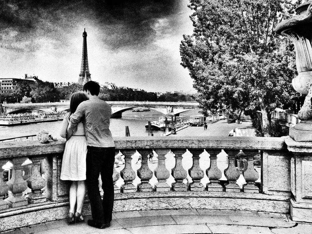 Les amoureux du pont Alexandre III