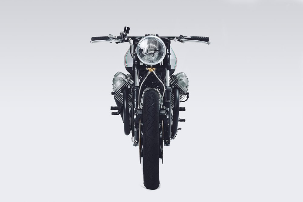 Untitled Motorcycles: кафе рейсер Moto Guzzi 850 T3