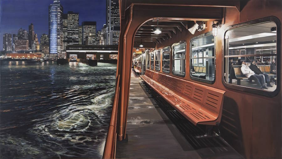 Great Photorealistic Paintings of NYC